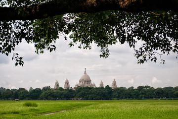Deurstickers Victoria Memorial in Kolkata, India