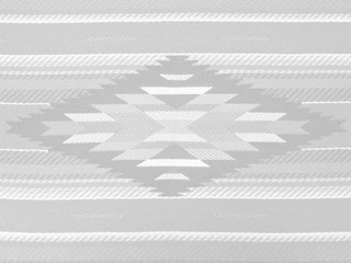 Grayscale Navajo Pattern Textile