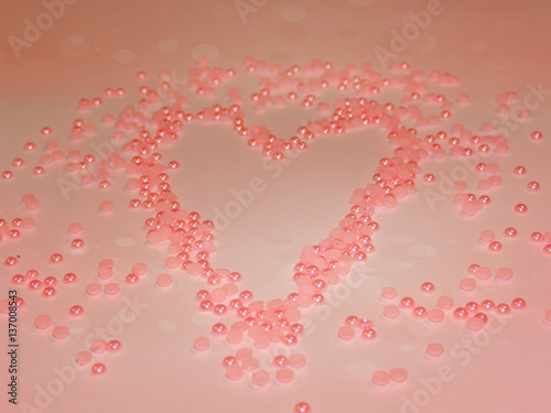 Background Bead Texture Pattern Closeup Beauty Abstract Backdrop