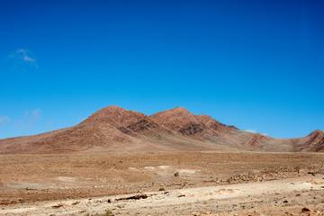 Desert landscape,  Atlas Mountains, Morocco