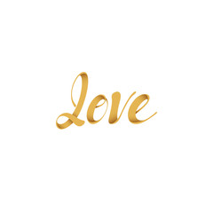 Lettering LOVE. Greeting Cards Mothers Day, Valentines Day, holidays. Phrase for design of brochures, posters, banners, web. Font Type Vector illustration.
