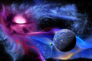 Exoplanet - An Exoplanet or extra solar is a planet that orbits a sun outside the solar system.