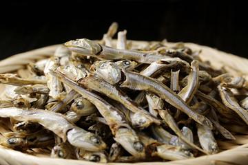 にぼし Dried small sardines