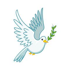 pigeon peace symbol.