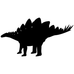 Stegosaurus Silhouette