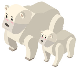 3D design for polar bears