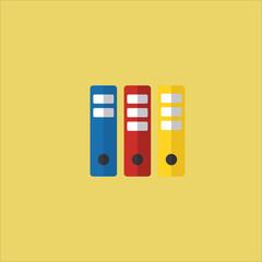 archive icon flat design