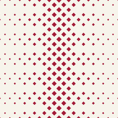 halftone red diamond geometric gradient pattern