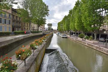 Canal de la Robin in Narbonne