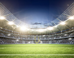Stadion football 4 Mittellinie