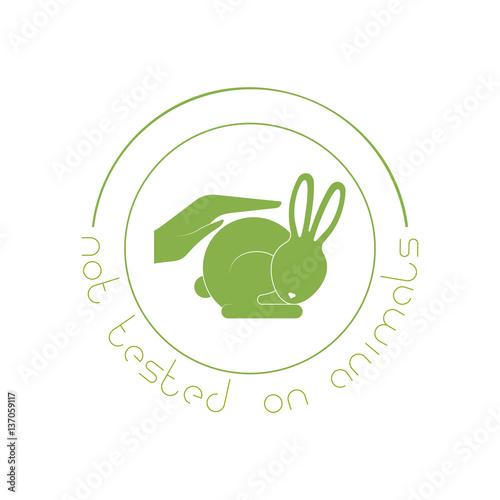 Animal Cruelty Free Logo Not Tested On Animals Symbol