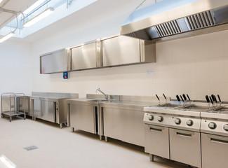Cucina industriale Fototapete