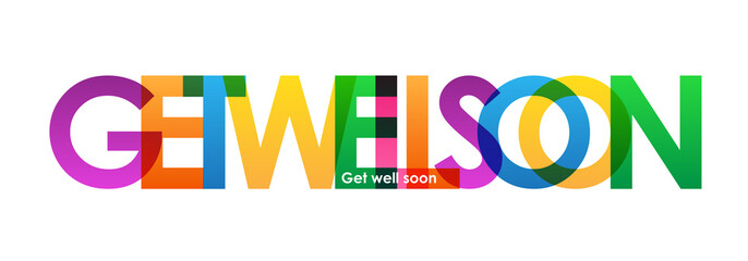 """GET WELL SOON"" Vector Banner"