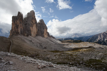 Hiking in the Dolomites. The Dolomites, a scenic part of the Alps located in Italy, are an absolute mecca for outdoor enthusiasts. Spectacular panoramas, mountainous massifs and rocky peaks that stand