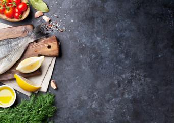 Fish cooking ingredients