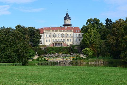 Schloss Wiesenburg und Schlosspark, Brandenburg, Deutschland