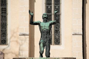 Betende Statue