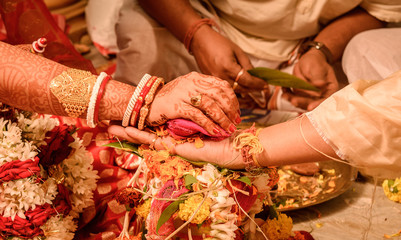 Indian Wedding Rituals- indian couple