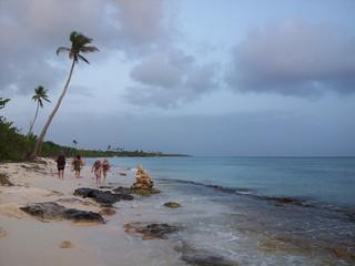 Atardecer en la República Dominicana