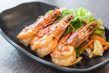 fried shrimps or prawns