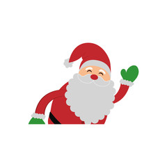 Christmas cute cartoon icon vector illustration graphic design