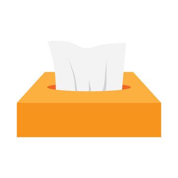 Napkins in box