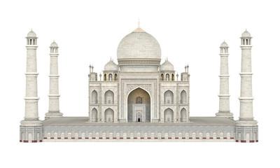 Taj Mahal Isolated Fototapete