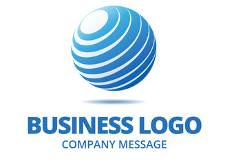 Abstract Globe Business Logo