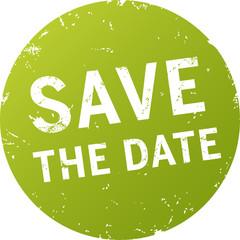 grüner Button save the date