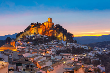 Montefrio in Granada, Spain