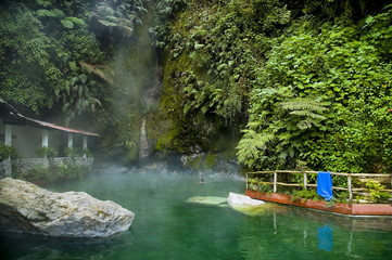 Natural spa in Guatemala