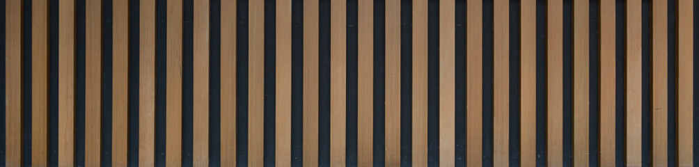 Timber slat Seamless texture, Wooden Yellow Brown background, Vertical