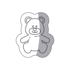 teddy bear baby icon image design, vector illustration
