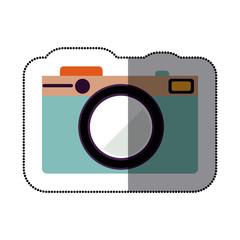 camera icon stock image, vector illustration design