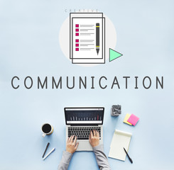 Blog Community Communication Connection Concept