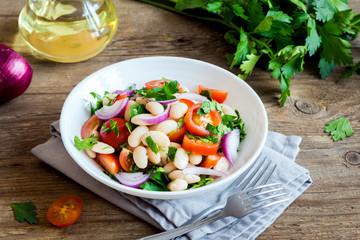 Fotobehang - Cannellini Bean Salad