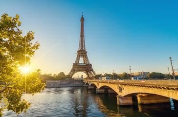 Paris Eiffelturm Tour Eiffel Tower Stock Photo