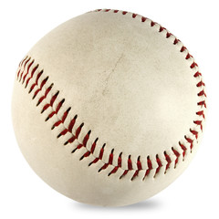 Baseball ball isolated with clipping mask