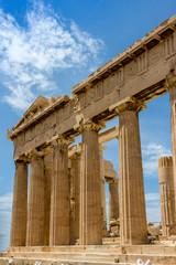 Akropolis Wolken