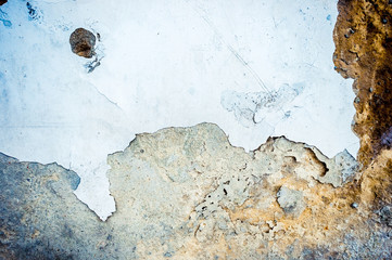 Old wall background with grunge abstract texture