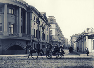The old Moscow - IXX century