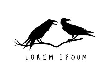 Ravens logo template