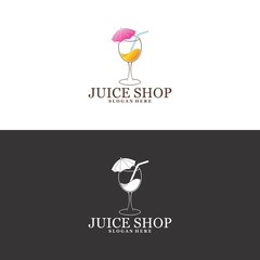 juice shop logo in vector