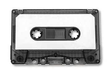Old compact audio cassette