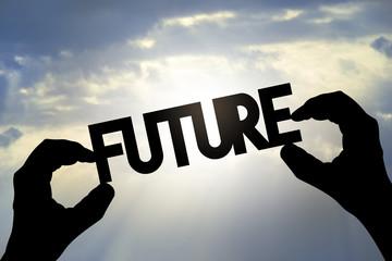Future concept, hands