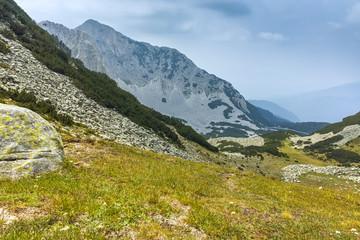 Amazing Landscape with Sinanitsa peak, Pirin Mountain, Bulgaria