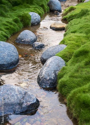 Rocks in a Creek