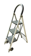 Ladder isolated on the white background.