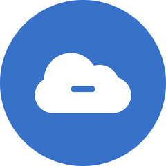 minus-cloud icon