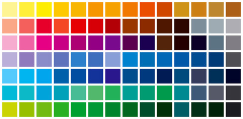 color chart background